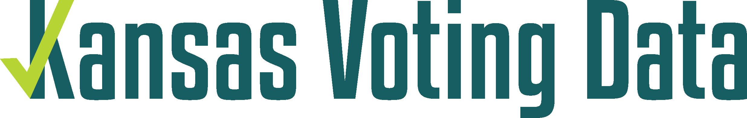 Kansas Voting Data